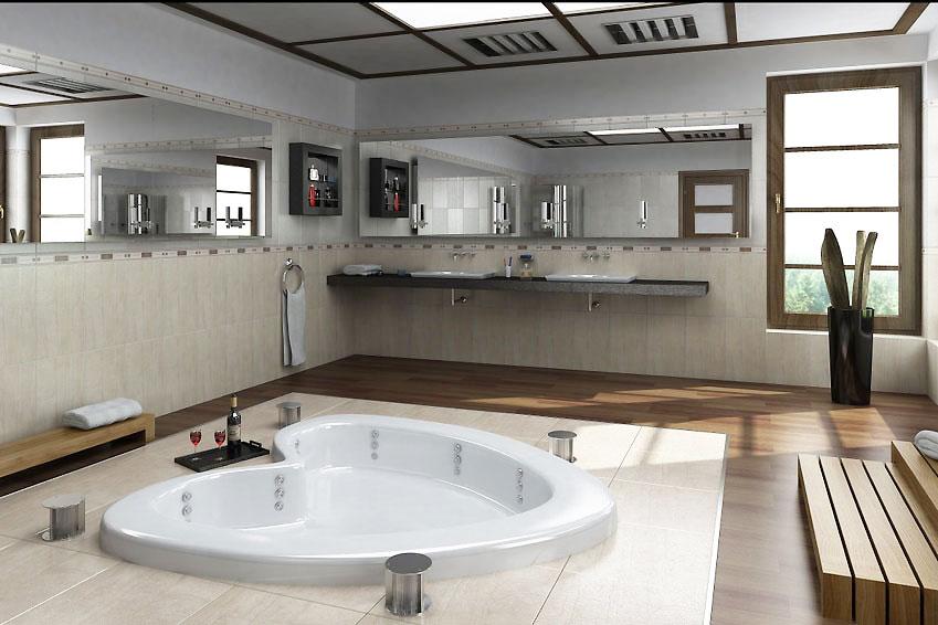 Ремонт в ванной комнате в своем доме фото